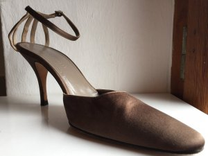 Sandalen met bandjes lichtbruin
