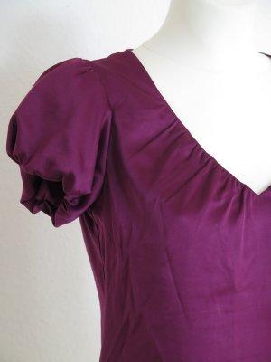 Esprit Blouse brillante rouge mûre polyester