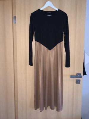 Satin-/T-Shirt-Kleid