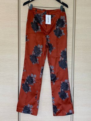 Ganni 7/8 Length Trousers multicolored