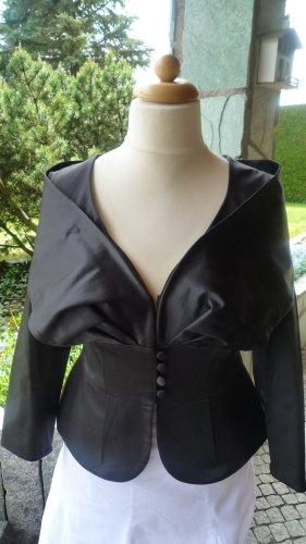 Ashley Brooke Blazer court noir polyester