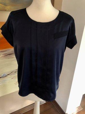 Philosophy Blues Original Połyskująca bluzka ciemnoniebieski