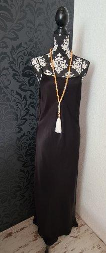 Satiniertes Midikleid  Gr. XL Zara