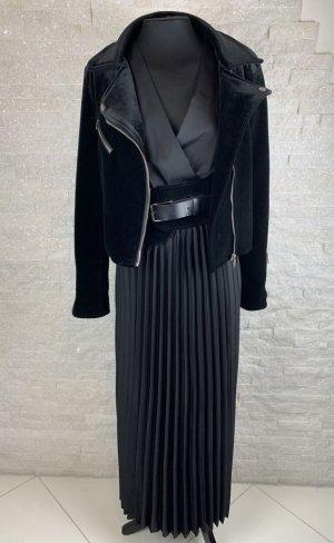 Italy Moda Robe chemise noir