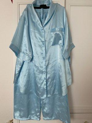 Florente Pyjama bleu azur polyester