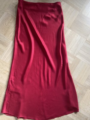 Urban Outfitters Maxi gonna rosso mattone