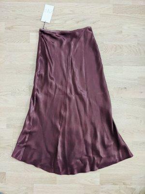Zara Silk Skirt multicolored viscose