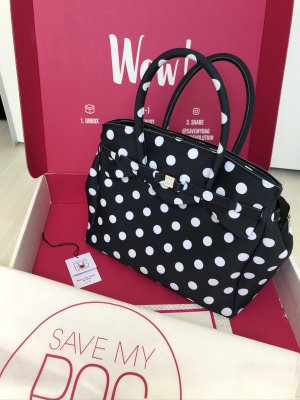 Save my bag Miss 3/4 plus Pois Nero SS 2020, neu + ungetragen