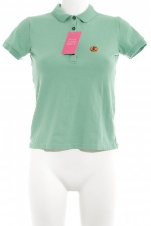 SAVE THE DUCK Polo-Shirt türkis Casual-Look