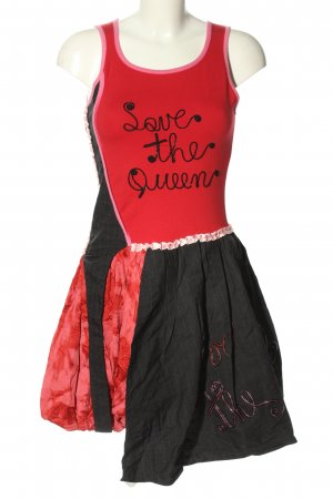 Save the Queen Ballonkleid rot-schwarz extravaganter Stil