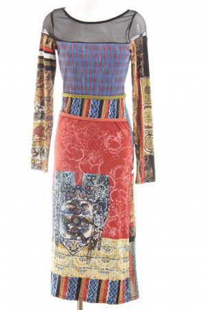 Save the Queen Jerseyjurk abstract patroon extravagante stijl