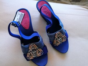 Save the Queen Dianette sandalen veelkleurig Imitatie leer