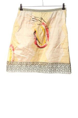 Save the Queen Jupe en soie motif abstrait style décontracté