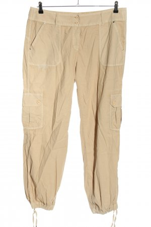 SayYes Pantalon cargo crème style décontracté