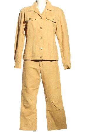 SayYes Traje de pantalón naranja claro estilo «business»