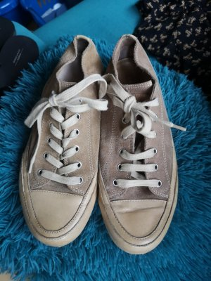 Candice Cooper Sneakers met veters beige