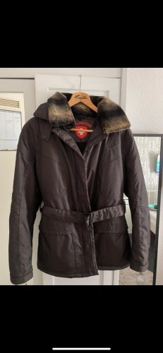 Wellensteyn Kurtka zimowa taupe-czarno-brązowy