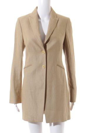 Scapa Mantel beige Streifenmuster Elegant