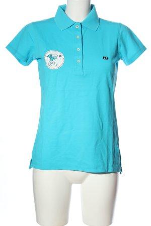 Scapa Polo Shirt blue casual look