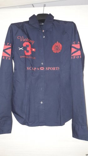 Scapa Sports Bluse in dunkelblau 38, top