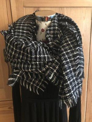 Scarf * Großer Schal * 70% Wolle * 30% Viscose