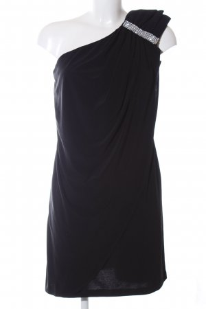 Scarlett Nite One-Shoulder-Kleid schwarz Elegant