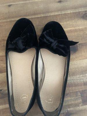 Scarosso Ballerines à lacets noir