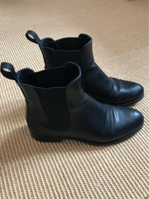 Scarosso Chelsea Boot noir cuir