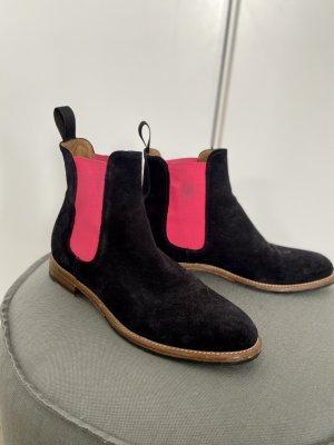 Scarosso Chelsea Boots in Gr 38 Damen Verlourleder Schuhe