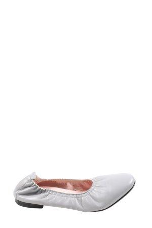 Scarosso faltbare Ballerinas hellgrau Casual-Look