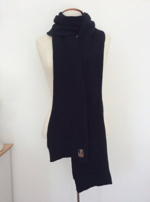 Polo Jeans Company Sciarpa lavorata a maglia nero