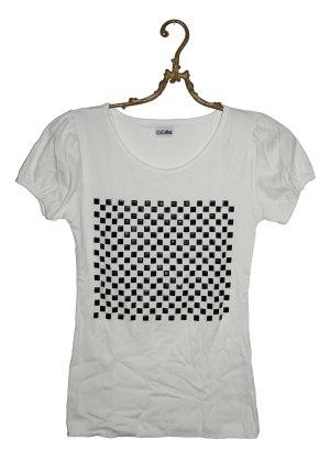 Schach Muster Shirt Gr. XS/S