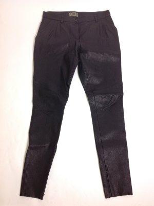 Schacky & Jones Pantalon en cuir noir