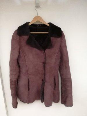 schaffell mantel