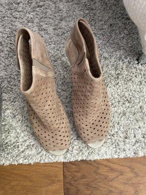 Schaftsandalen Sandalen mit Absatz Ankle Boots Rylko Größe 38