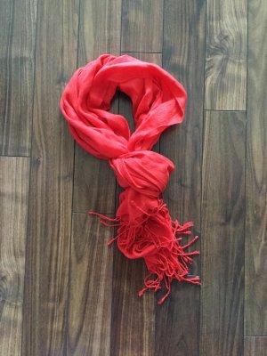 H&M Écharpe d'été rouge
