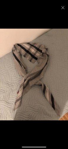 s.Oliver Écharpe en laine gris-noir