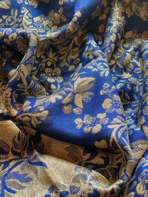H&M Sjaal met franjes blauw-goud