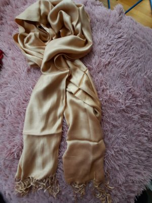 Cashmere Scarf sand brown