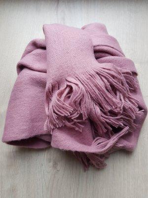 H&M Écharpe en tricot vieux rose-mauve
