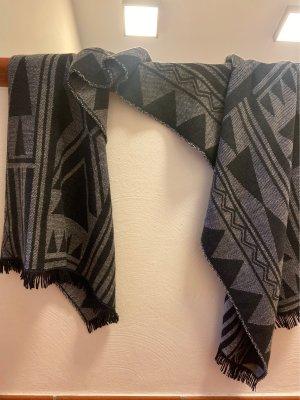 Only Écharpe en tricot noir-gris
