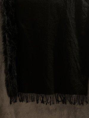 Sciarpa di lana nero
