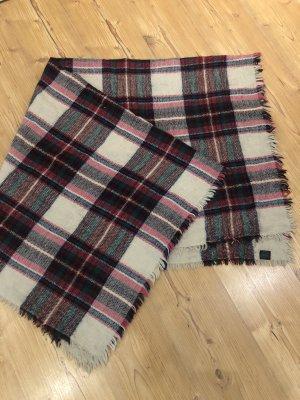 Deichmann Écharpe en tricot multicolore