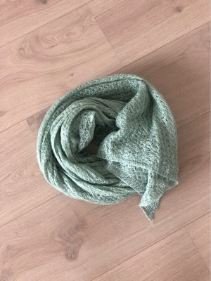 no name Knitted Scarf mint