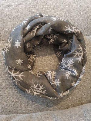 Sciarpone grigio chiaro-grigio
