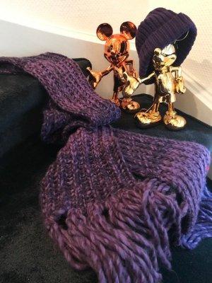 Esprit Wollen sjaal violet