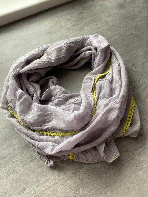 Cecil Chal veraniego gris claro-amarillo neón