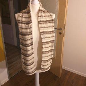 Wełniany szalik brązowy