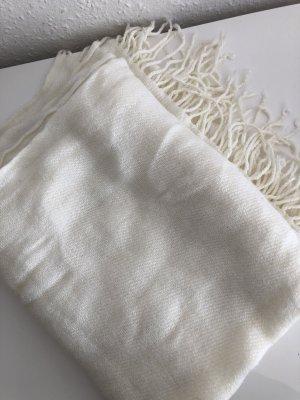 H&M Écharpe en tricot blanc
