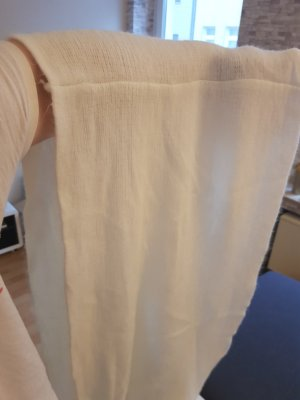Bufanda tubo blanco puro